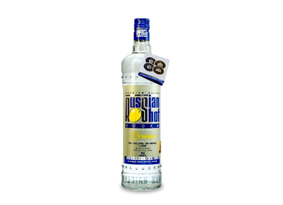 Russian Shot Vodka Lemon